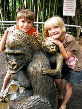 My monkeys, San Diego Zoo