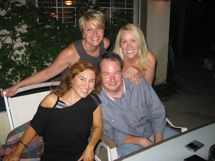 Scarlett, Todd, Bonnie, and me